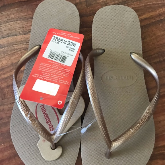 Havaianas Shoes - Brand New Tan Havaianas Sandals